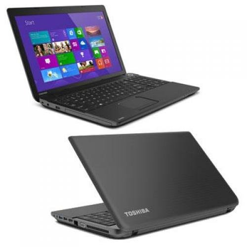 "Toshiba Satellite C55-A5246 - Core i3 2348M / 2.3 GHz - Win 8 - 4 GB RAM - 500 GB HDD - DVD SuperMulti - 15.6"" TruBrite 1366 x 768 (HD) - HD Graphics 3000 - satin black in trax horizon - kbd: US"