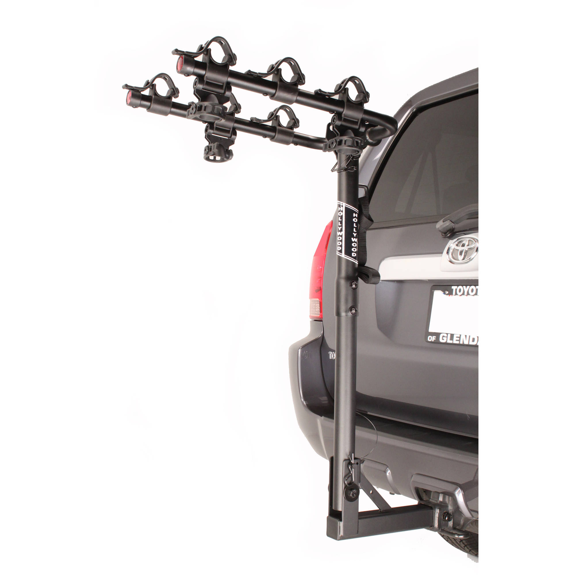"Hollywood Racks Traveler 3-Bike Bike Rack, 2"" Hitch"