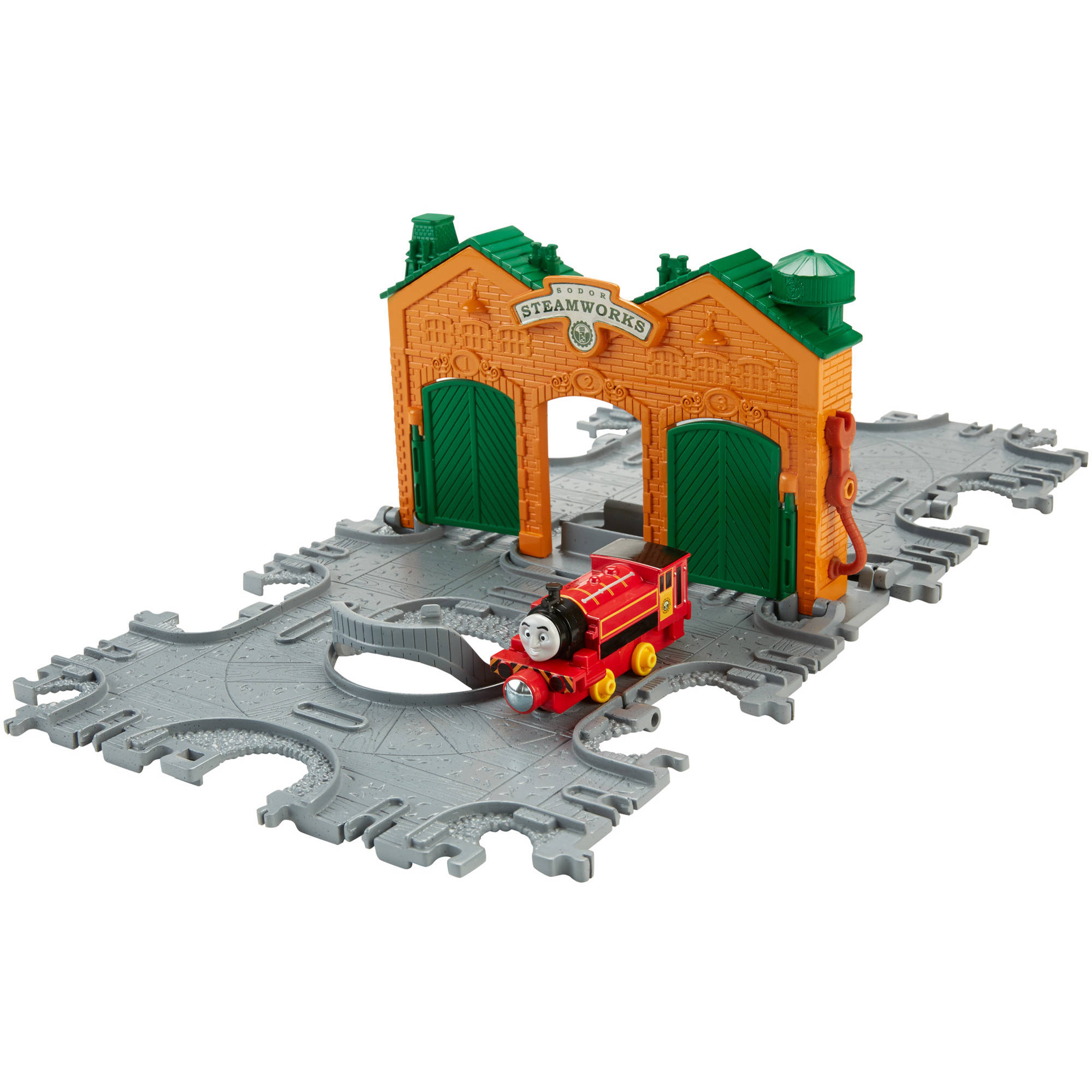 Fisher-Price Thomas and Friends Take-n-Play Steamworks Tile Tracks
