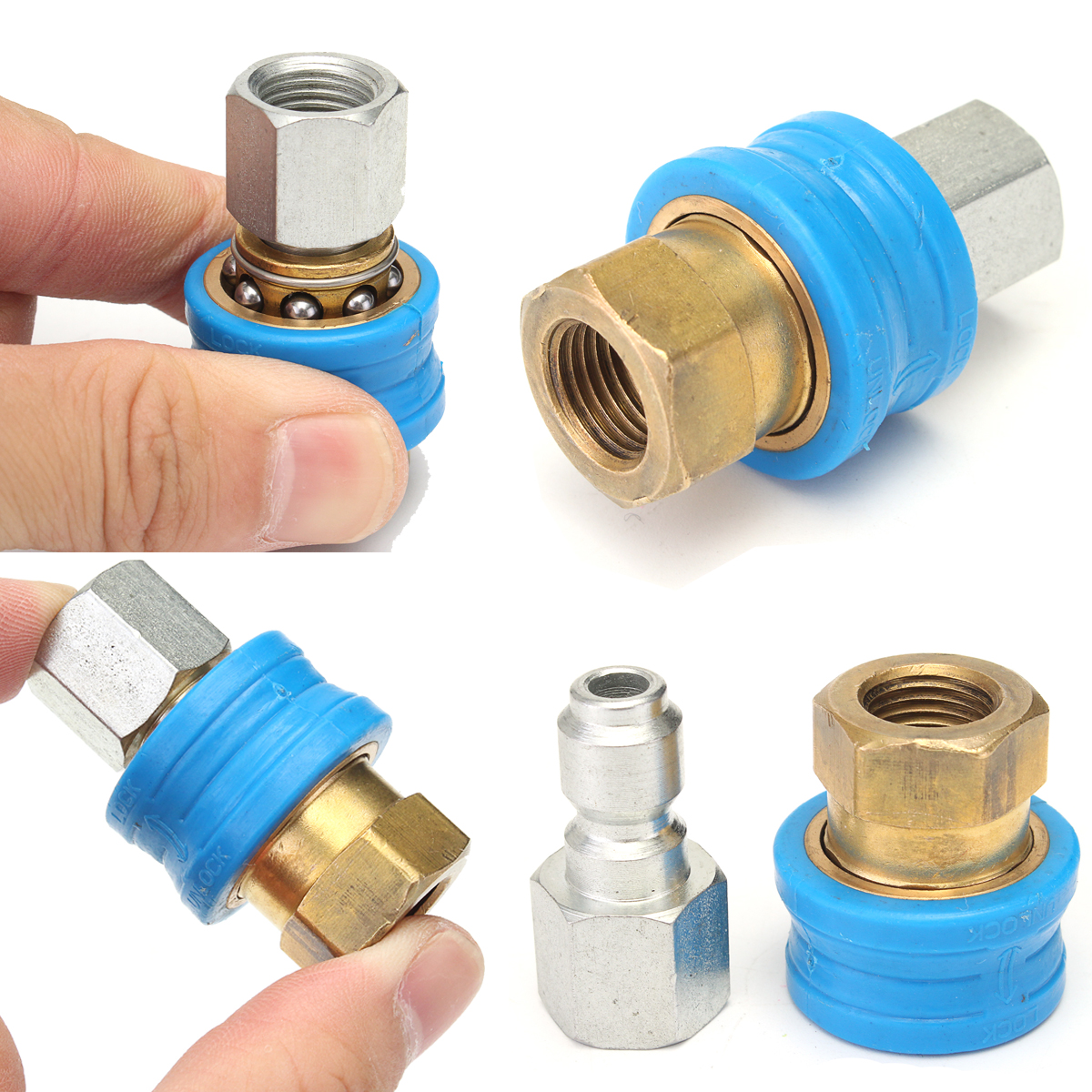 Pressure Washer Steam Cleaner pressure washer steam Quick Release Compact 1/4F Coupling