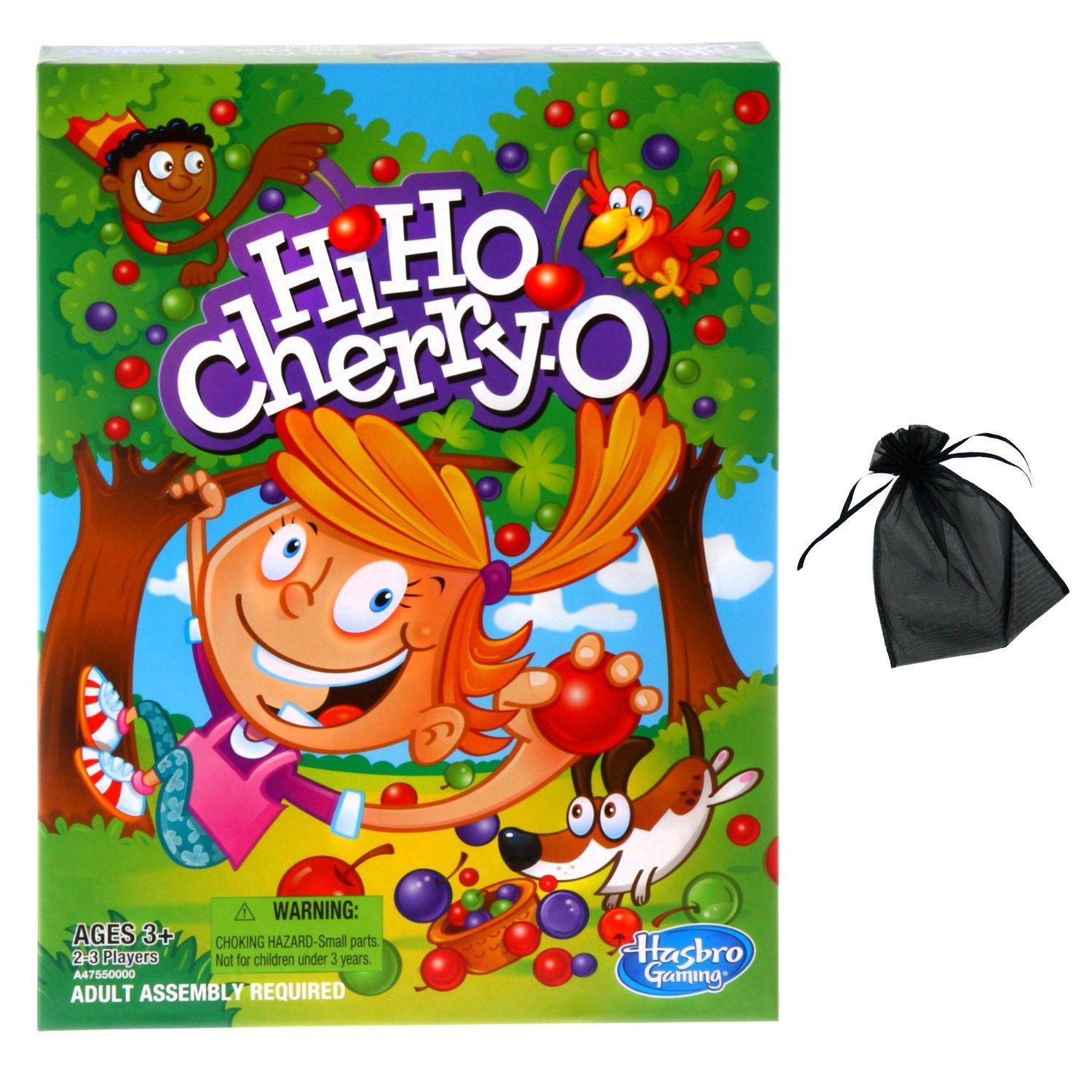 Hi Ho Cherry-O w free storage bag, Hi Ho Cherry-O is a game of basket-filling fun By... by