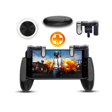 PUBG Gaming Trigger Phone Game Mobile Controller Gamepad Tools for Android  IOS black | Walmart Canada
