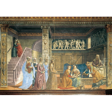 Stories Of The Virgin And St John The Baptist The Nativity Of...