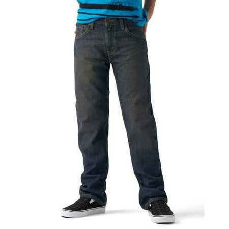 Signature by Levi Strauss & Co. Boys' Straight Fit Jeans