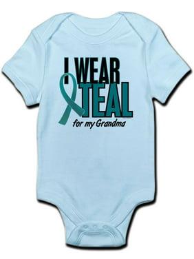 2bb4343e62d9d Product Image CafePress - I Wear Teal For My Grandma 10 Infant Bodysuit -  Baby Light Bodysuit