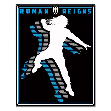 Official WWE Authentic Roman Reigns Metal Sign