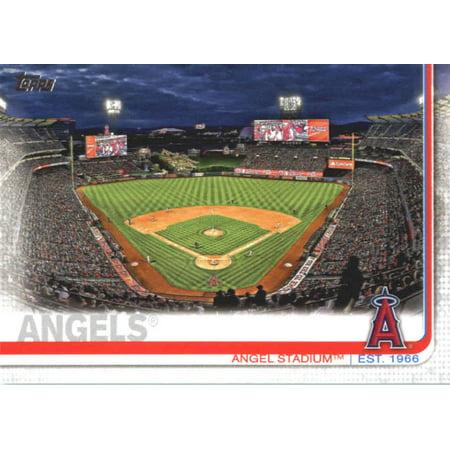 2019 Topps #26 Angel Stadium Los Angeles Angels Baseball Card -