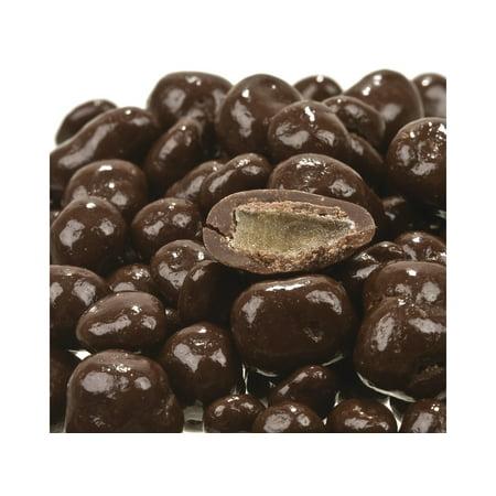 Chocolate Crystallized Ginger - Dark Chocolate covered Dried Ginger pieces 2 pounds chocolate covered ginger