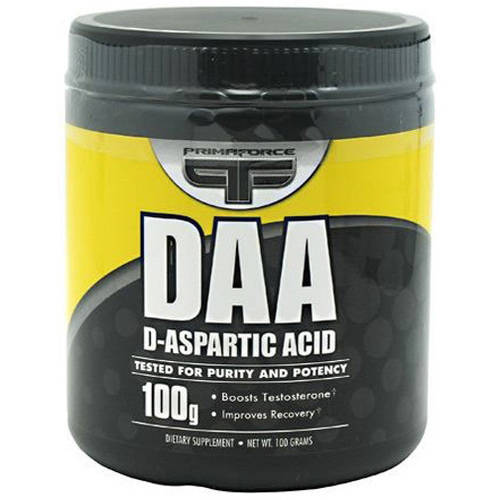 Primaforce D-Aspartic Acid, Unflavored, 100 GM