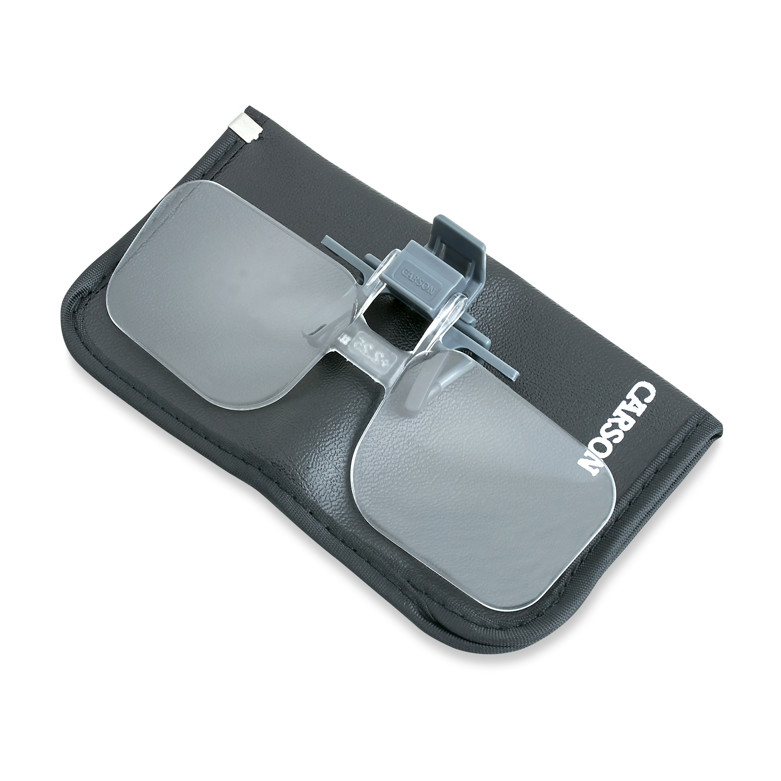NEW CARSON OPTICAL CLIP AND FLIP CAP MAGNIFIERS 2.00 POWER fly fishing flip down