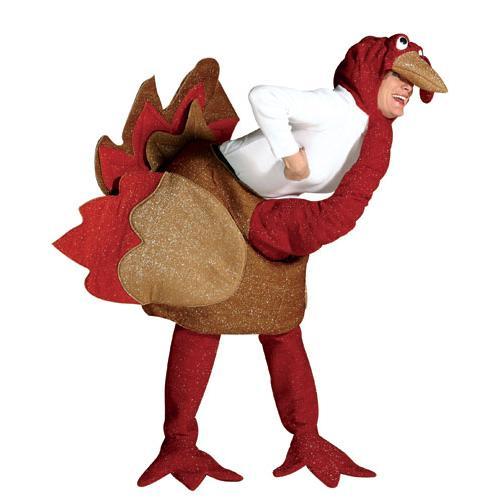 Turkey Suit Thanksgiving Adult Size Standard Costume