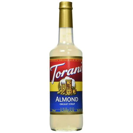 Almonds Syrup (Almond Orgeat Syrup, 25.4 Ounce Torani)