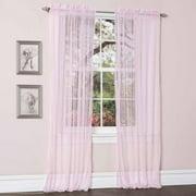 Lola Pink Window Curtains, Pair