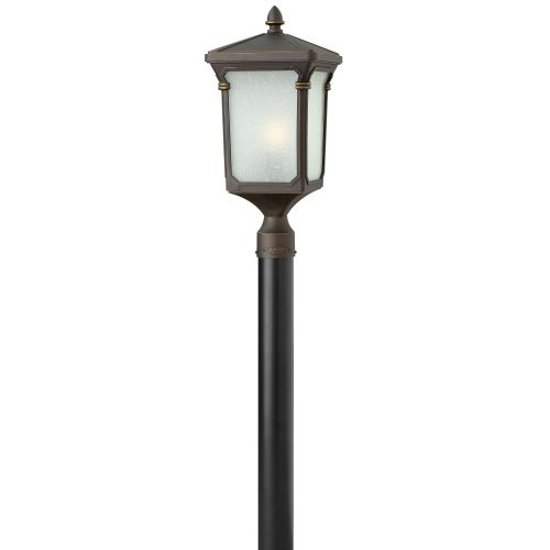 Hinkley Lighting 1351-GU24 1 Light Post Light from the Stratford Collection