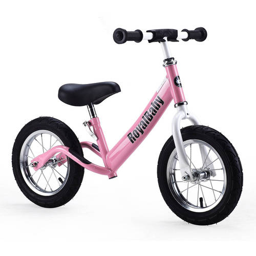 Royalbaby 12 inch Kid's Bike, Boy's Bike, Girl's Bike Balance Bike, Running Bike, Push Bike, No Pedal Bike, Blue