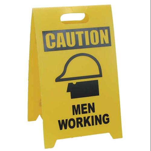 SEE ALL INDUSTRIES TP-CMENW Flr Safety Sign