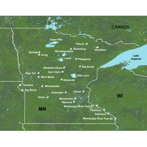 Garmin 010C051200 LakeMaster Minnesota Digital Map