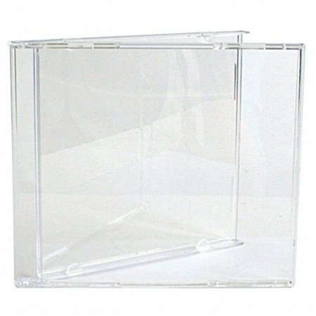 CheckOutStore 100 STANDARD CD Jewel Case (Carton Only NO Trays)