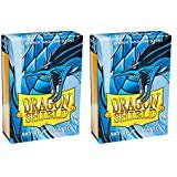 Dragon Shield Bundle: 2 Packs of 60 Count Japanese Size Mini Matte Card Sleeves - Matte Sky Blue - image 1 of 1