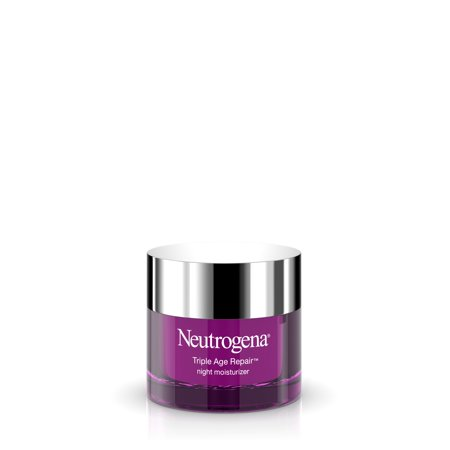 Neutrogena Triple Age Repair Vitamin C Night Moisturizer for Face, 1.7 oz