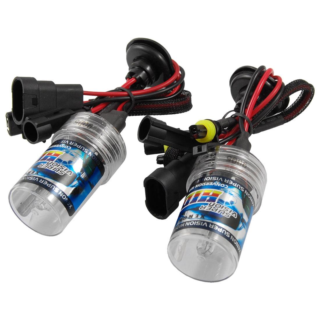 Unique Bargains Unique Bargains Auto Car Headlight 9005 6000K HID Xenon Lamp Black Ballast Kit