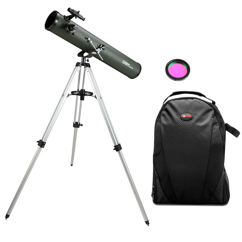 Celestron National Park Foundation PowerSeeker 114AZ Telescope + Mars Eyepiece Filter