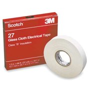 SCOTCH 27 Glass Cloth Rubber Electrical Tape
