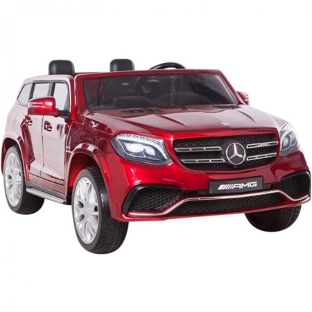 2X12V Limited Licensed Mercedes Benz GLS Series 2 Seater Kids Ride On Car, Toy, SUV -Doors,Music, Lights, Leather,