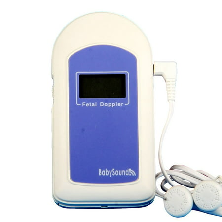 Authentic Baby Sound B Fetal Doppler with Built-In Probe and LCD