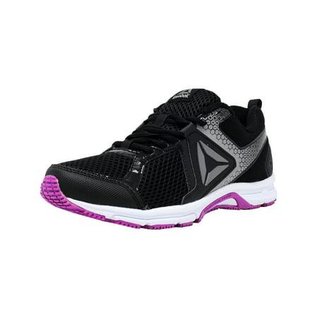 Reebok - Reebok Women s Runner 2.0 Mt Black   Vicious Violet Pewter  Ankle-High Running Shoe - 7.5M - Walmart.com 2d2dbd07a
