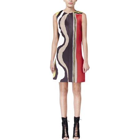 Rachel Rachel Roy Womens Colorblock Shift Party Dress - Juniors Colorblock Dress