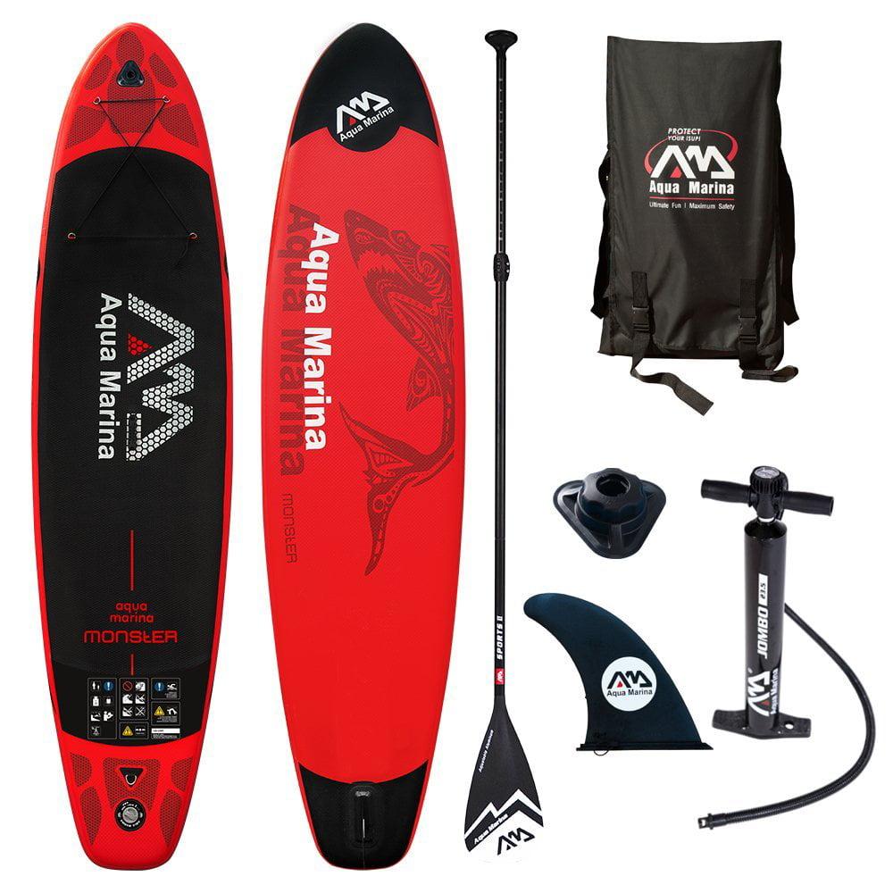 Aqua Marina Monster 12' Stand Up Paddle Board Inflatable SUP by Aqua Marina