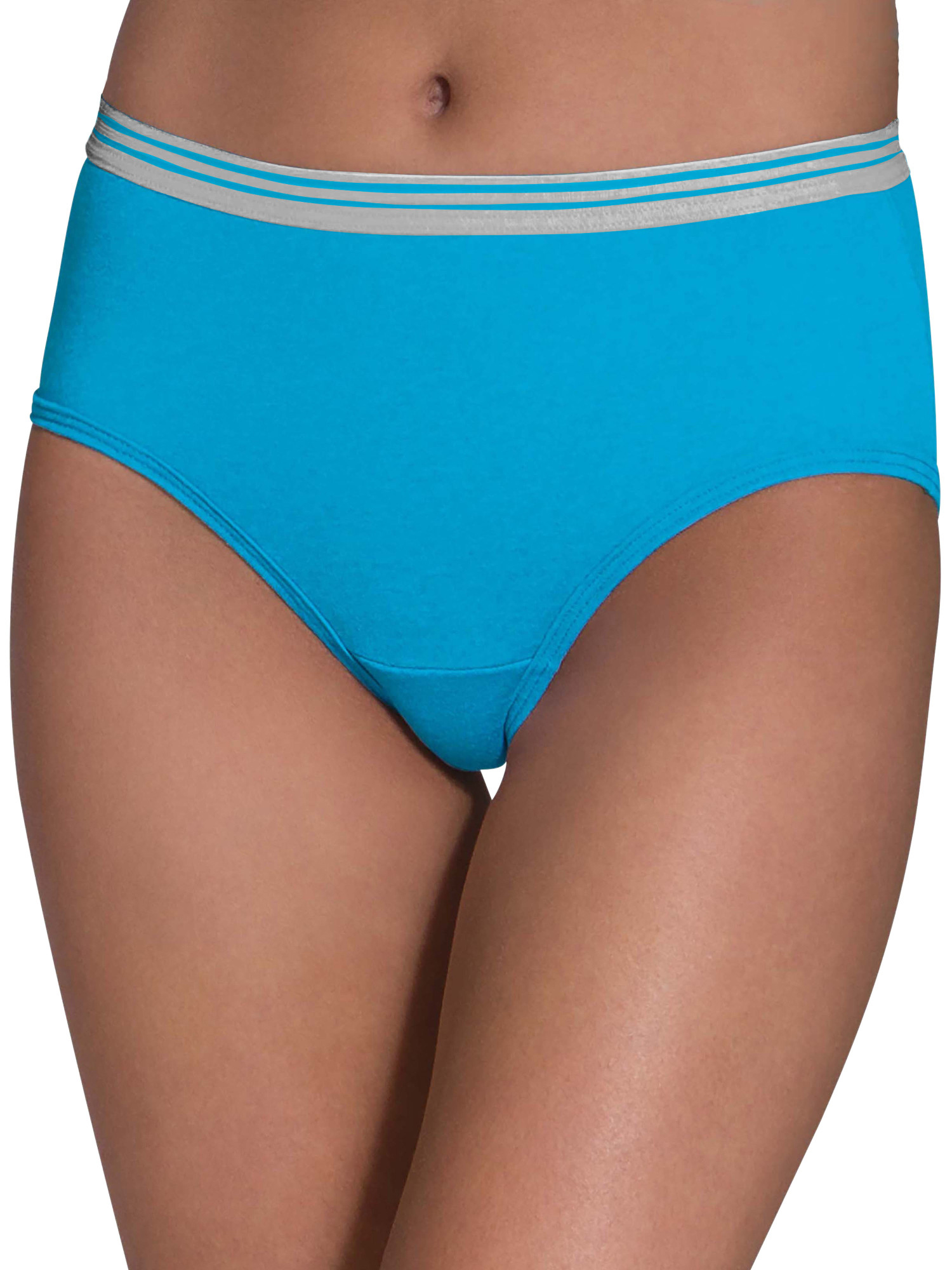 Women's Heather Low-Rise Brief, 6 Pack