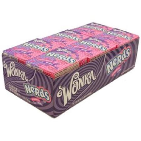 Product Of Nerds, Strawberry-Grape, Count 24 (1.65 oz) - Sugar Candy / Grab Varieties & Flavors