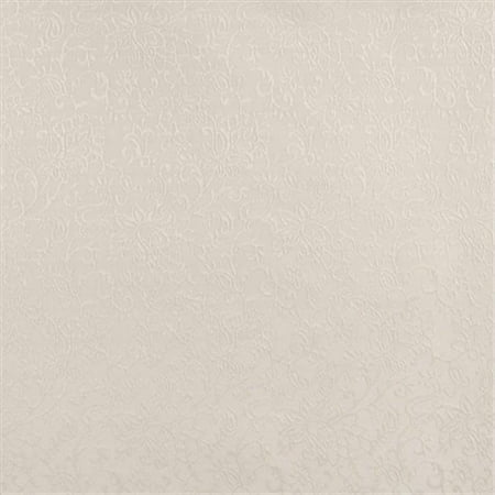 Contemporary Floral Fabric - Designer Fabrics B602 54 in. Wide Off White, Contemporary Floral Jacquard Woven Upholstery Fabric