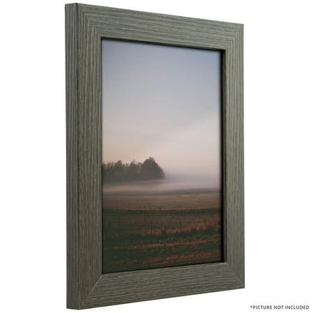 Craig Frames Bauhaus 125, Modern Grey Oak Picture Frame, 10x13 Inch