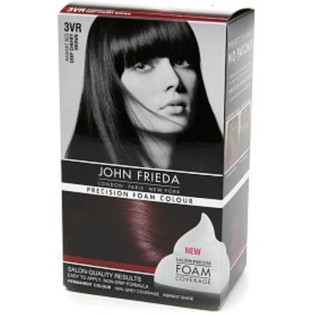 2 Pack - John Frieda Precision Foam Colour Radiant Red (Deep Cherry Brown) 3VR 1 Each