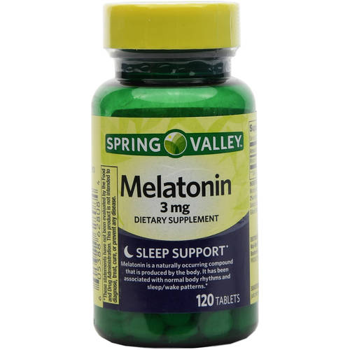 Spring Valley Melatonin 3 mg, 120ct