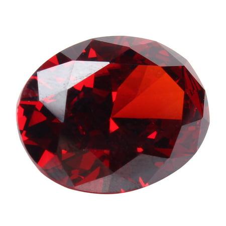 13.89CT Pigeon Blood Red Ruby Unheated 12X16MM Diamond Oval Cut VVS Loose Gems