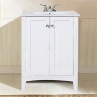 "Elegant Lighting Danville 34"" Bath Vanity in White"