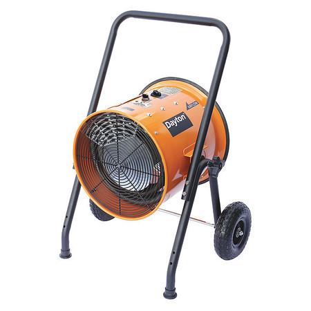 DAYTON Electric Salamander Heater,480V,15,000W 1RKT4