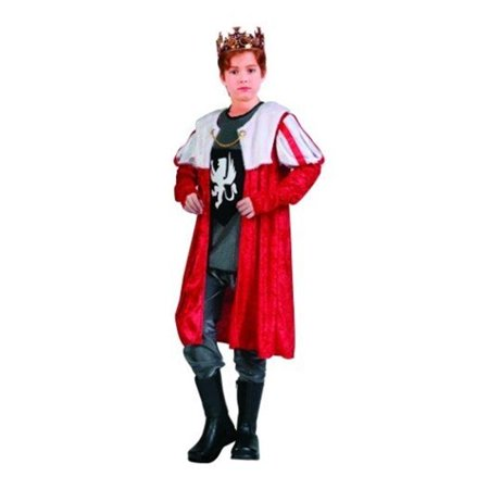King Robe Costume - Size Child Small 4-6 - image 1 de 1