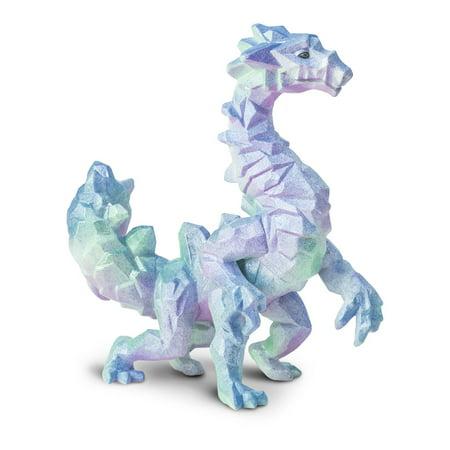 Crystal Cavern Dragon Safari Ltd New Educational Kids Toy Figure (Kids Safari)