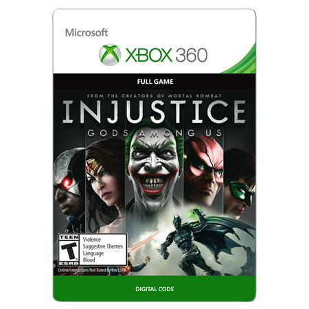 Xbox 360 Injustice: Gods Among Us (Email Delivery) (Xbox 360 Brothers In Arms)