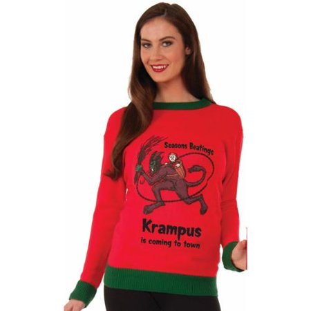Krampus Adult Ugly Christmas Sweater for $<!---->