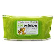 Petkin Bamboo Eco Petwipes, 80 Count