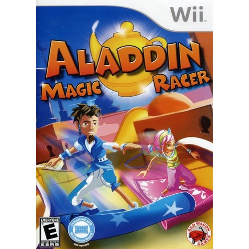 Aladdin Magic Racer (Wii)