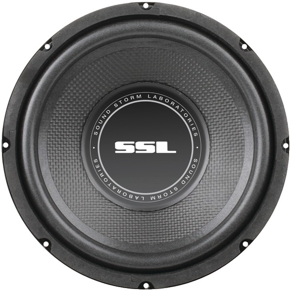 "Brand New SOUNDSTORM SS8 SS Series High-Power Single 4ohm Voice-Coil Subwoofer with Poly-Injection Cone (8"", 400 Watts)"