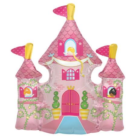 Pretty Princess Castle Tower Air-Fill Mini Shape 14