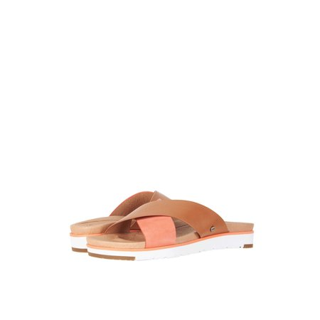 UGG Kari Women's Leather Crisscross Slip On Sandal 1090383